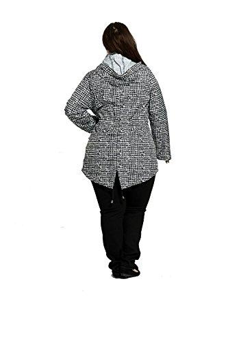 Divadames -  Giacca impermeabile  - Maniche lunghe  - Donna SALSA/White
