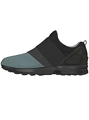 adidas ZX Flux Slip On chaussures 4,5 granite/carbon/black