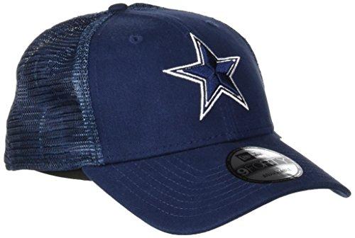 New Era Herren 9FORTY Trucker Washed Dallas Cowboys Otc Cap, DK Blue (Baseball-kappen Nfl Cowboys)