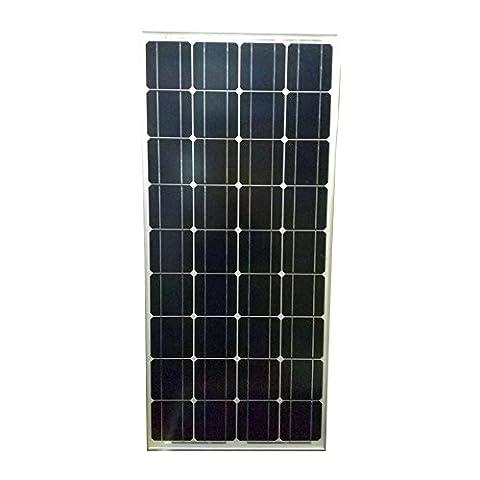 Panneau solaire photovoltaïque 100W 12V monocristallin