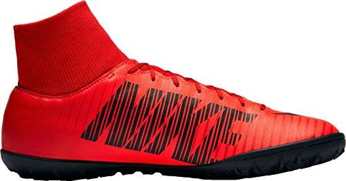 Nike Herren MercurialX Victory VI DF TF Fußballschuhe Rot (University Red/Bright Crimson/Black 616)