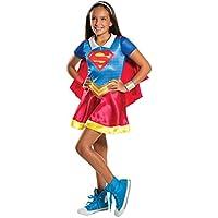 Warner-IT620742-L Costume classico Supergirl Superhero Girls, Taglia L (8-10 anni)