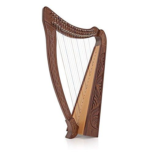 22 String Harfe mit Hebeln von Gear4music