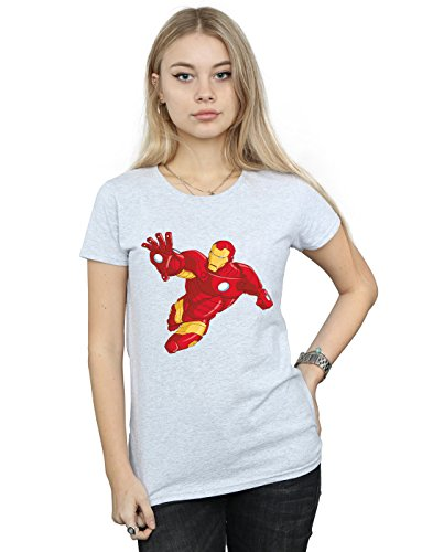 Marvel Mujer Iron Man Simple...