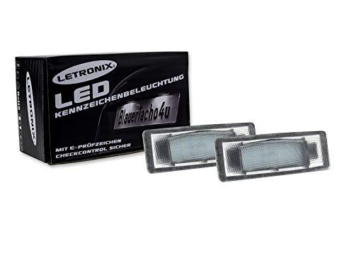 2x LED Kennzeichenbeleuchtung Kennzeichenleuchte