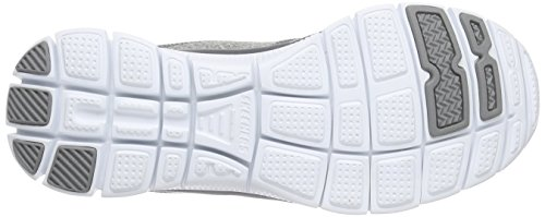 Skechers Flex AppealHollywood Hills, Sneakers basses femme Gris - Grau (Gry)