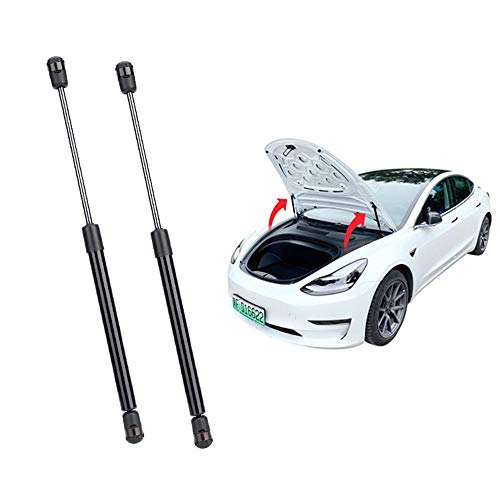 Volwco For Tesla Model 3 Front Lift Hood Supports for Automatic Opening Lifting 2 Pcs