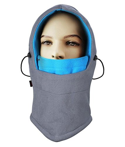 NIKAVI Balaclava Mask Face Ski Neck Muff Full Winter Cap Fleece Outdoor Protecting Hat Cover