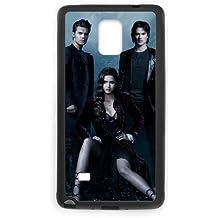 Vampire Diaries Saison M6G85R8NH coque Samsung Galaxy Note 4 cas coque 321QVJ noir