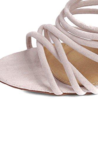 Nackte Damen Freya Multi-Bügel-Verpackungs-Bindung Stiletto Nackt