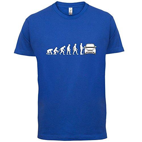 Evolution of Man - Smart Fahrer - Herren T-Shirt - 13 Farben Royalblau