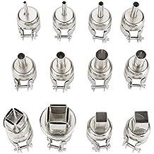 Kit de boquillas de pistola de calor para 850 estaciones de soldadura de aire caliente Kit