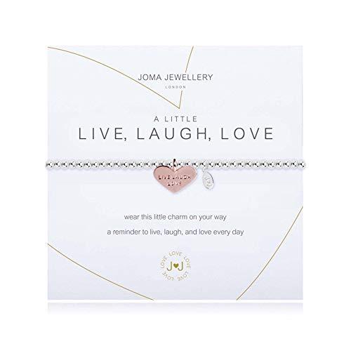 Joma Jewellery Armband–A Little Live Laugh Love