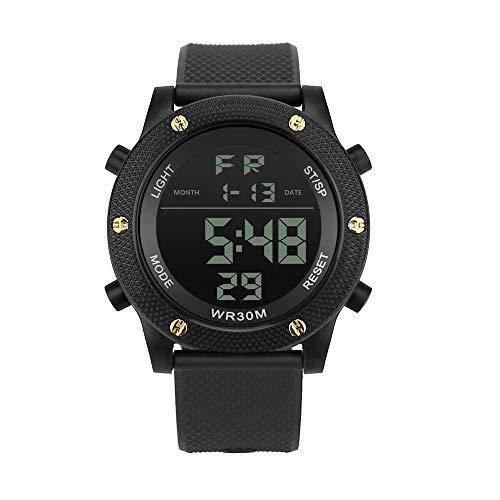 jieGREAT Räumungsverkauf  , Luxus Männer Analog Digital Military Army Sport LED Wasserdichte Armbanduhr