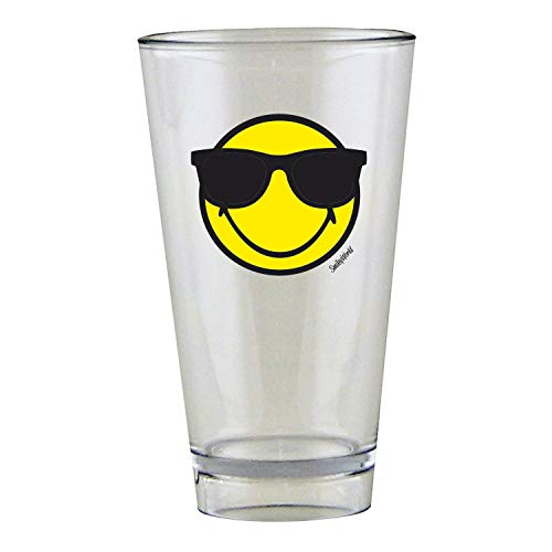 Zak Designs Smiley Emoticon Sonnenbrille Glas 30 cl in Geschenkbox