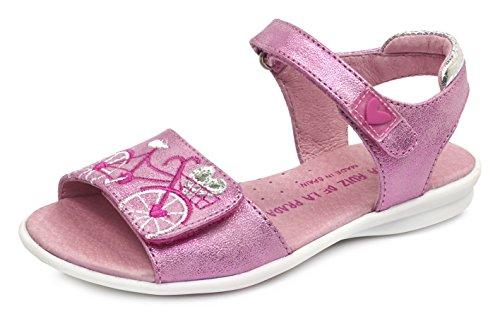 Agatha Ruiz de la Prada 172953, Sandales  Bout ouvert fille Pink (Rosa)