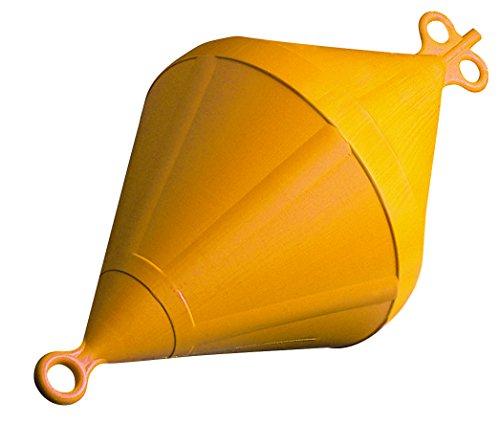 Doppelspitzboje 24 Liter Gelb
