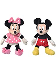 Mickey Mouse - Disney 51065030P. Peluche 6cm. Modelo aleatorio