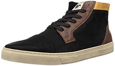 Kost Kinska, Sneakers Hautes homme, Noir (Noir/Cognac), 42 EU
