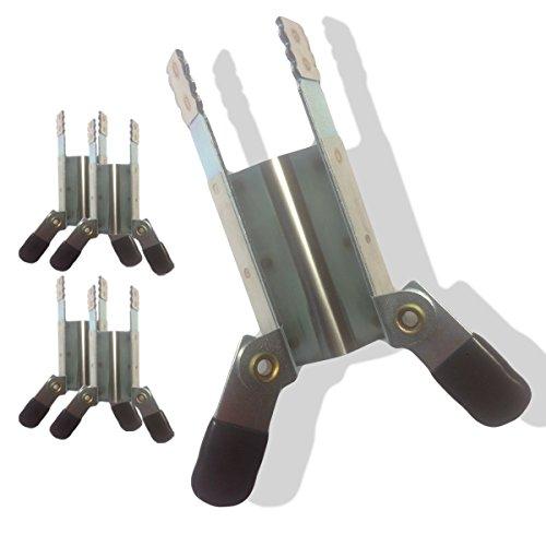 Klemmsicherung Rollladen  Einbruchschutz für das Fenster, genial & einfach  Sie erhalten 4 Stück (2 Paar)  Lagerware daher schneller Versand