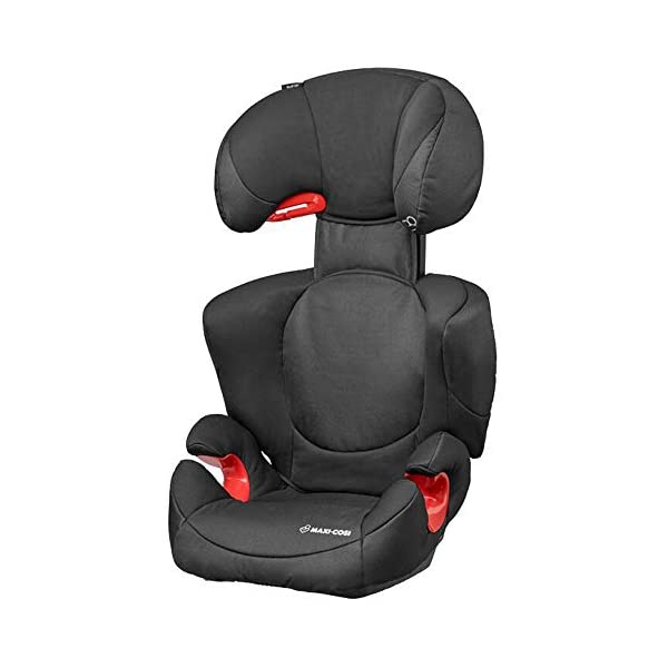 Maxi-Cosi Rodi XP2 Group 2/3 Car Seat, Night Black Maxi-Cosi Forward facing group 2/3 car seat suitable for children from 15 to 36 kg (approx. 3.5 to 12 years) Optimal side crash protection for head, lower back and hips Backrest grows along with your child in both length and width 1