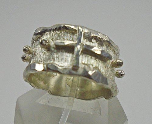 anello-rosario-in-argento-forgiato-e-saldato-realizzato-a-mano