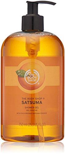 The Body Shop Duschgel - XXL 750ml - im Spender - SATSUMA Shower Gel - Duschgel-spender