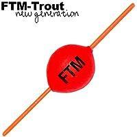 FTM Steckpiloten rot - Pilotpose zum Forellenangeln, Forellenpose, Forellenschwimmer, Pilotkugel für Forellen, Forellenangeln
