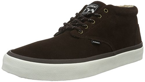 Element Herren Preston Sneakers Low-Top Braun (138 Walnut)