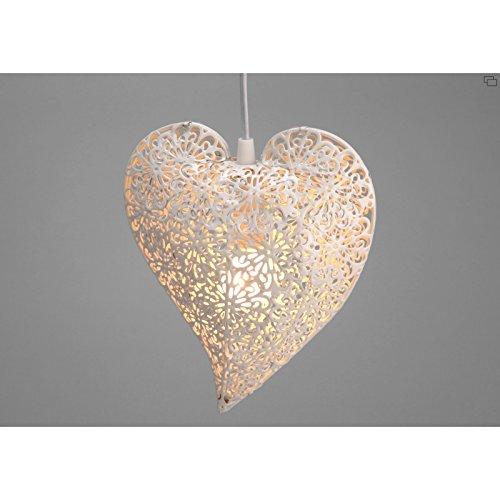 Lampe à suspendre coeur