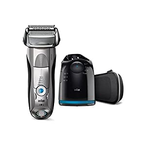 Fully Washable Braun Series 7 7898cc Foil System Wet and Dry Electric Shaver Cordless Use