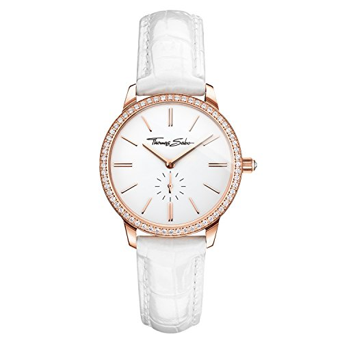 Thomas Sabo Women's Watch Glam Spirit Rose Gold White Analogue Quartz
