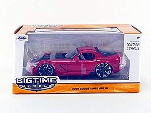 Jada Toys-Coche en Miniatura de colección, 96805r _ M8, Rojo/Negro