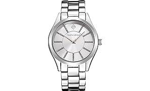 Timothy Stone Coleccion Charme Stainless - Reloj Mujer de cuartzo, Color Plata