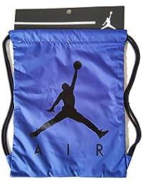 b71dfcb69787f Nike Air Jordan Jumpman ISO Gym Sack (Blue Black)