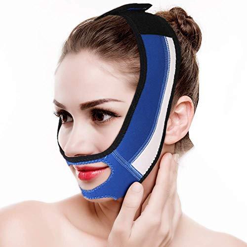 Gesicht Abnehmen Cheek Mask, Gesicht Schlank Anheben Straffen Haut Bandage Doppelkinn Entfernen Sie die Mundentspannung Ziehen Gurt Gürtel zum Schlafen -