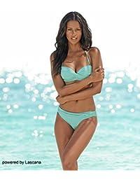 lascana plancha de Bandeau de bikini, verde menta, 42C
