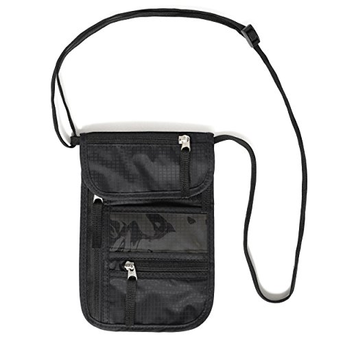 travel-neck-pouch-by-walden-nomad-gear-co-slim-sturdy-black-neck-wallet-with-5-waterproof-pockets-fo