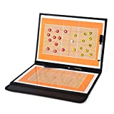 Lesbord Volleybal tactisch bord, sterke zuigkracht met digitale nummerplaat voor binnen buiten voor volleybal basketbal spelsport