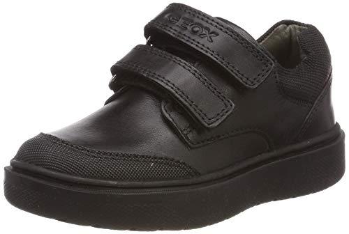 Geox J RIDDOCK Boy F, Zapatillas para Niños, Negro (Black C9999), 34 EU