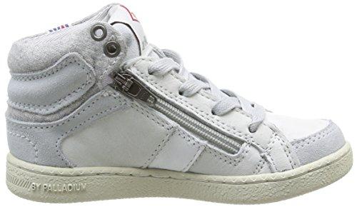 PLDM by Palladium  Macadam Cash,  Sneaker unisex bambino Bianco (Bianco (Off White))