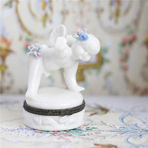 Tobbrt Lovely Little Angel Porcelain Ware Ceramic