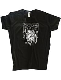 Original Viking-Shirts T-Shirt | Heimatschutz Wikinger Germanen odin thor wotan | 100 % Baumwolle | bequem & hoher Tragekomfort