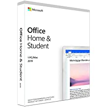 Microsoft Office 2019 Home & Student multilingual | 1 PC (Windows 10) /Mac | Dauerlizenz | Box