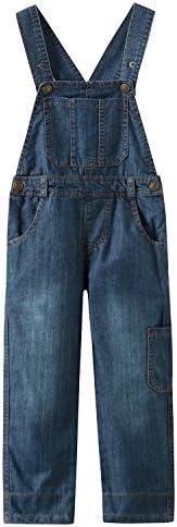 Grandwish Salopette Jeans Bambino Ragazzo 3 Anni - 10 Anni
