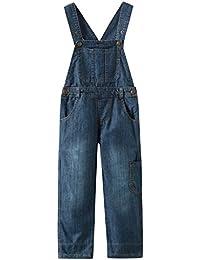 Grandwish Niños Mono Jeans Peto Vaquero Unisex 3 Años - 10 Años