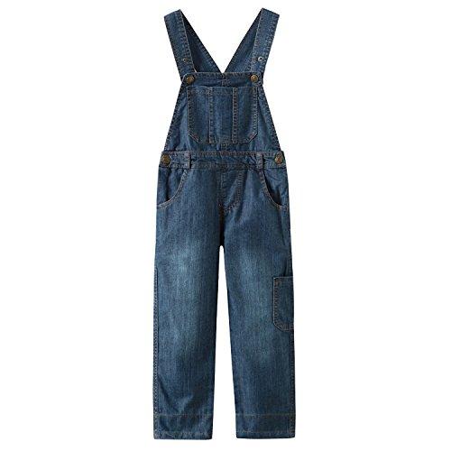 Grandwish Niños Mono Jeans Peto Vaquero