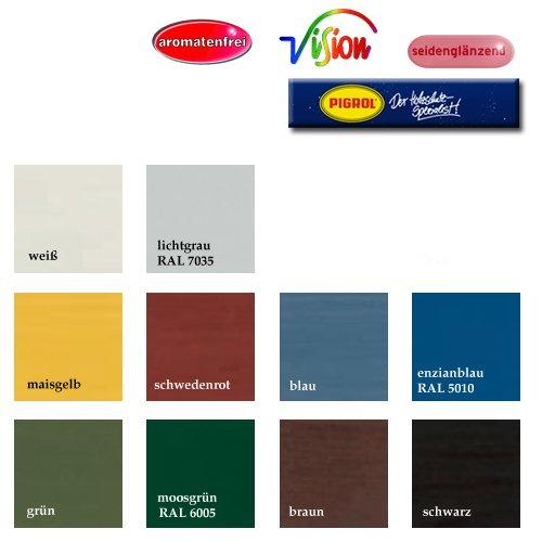 Schwedenhaus farben bedeutung  Schwedenhaus-Deckfarbe, Farbton: schwedenrot, 2,5 ltr. Gebinde ...