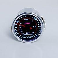 THG Universal Fit 2 pulgadas 52mm LED Auto Racing ahumado Digital Turbo Boost Gauge Vac¨ªo 2 BAR 12V de montaje