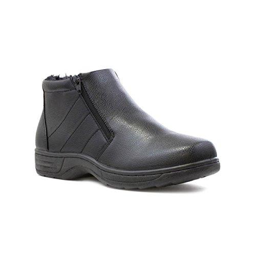 hobos-mens-black-zip-up-ankle-boot-size-9-uk-black